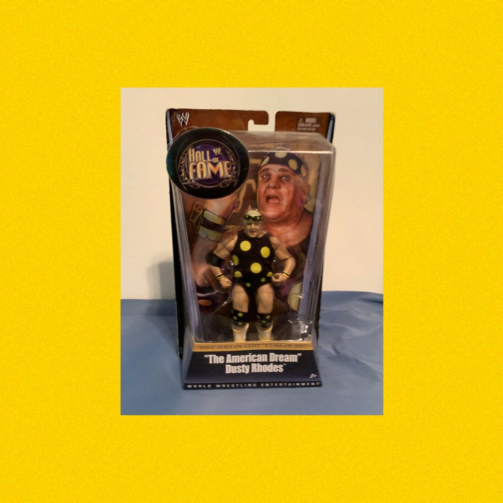 WWE Mattel Legends Exclusive Hall Of Fame The American Dream Dusty Rhodes