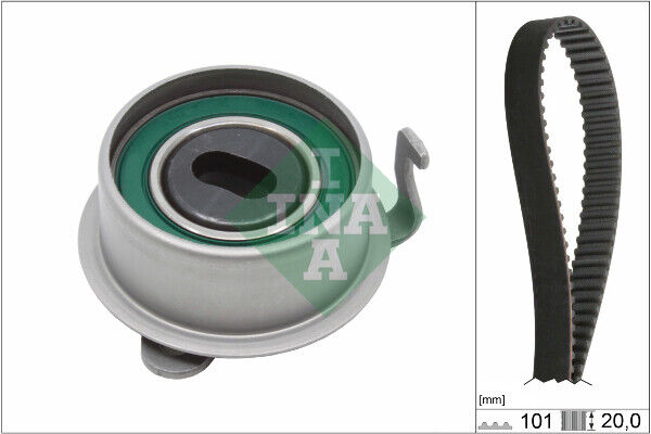 INA Timing Belt Kit 530035510 Fit with Hyundai Amica