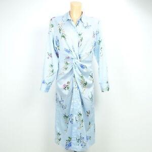 ZARA Blusen-Kleid Tunika Gestreift Blau Weiß Gr. M 38 | eBay