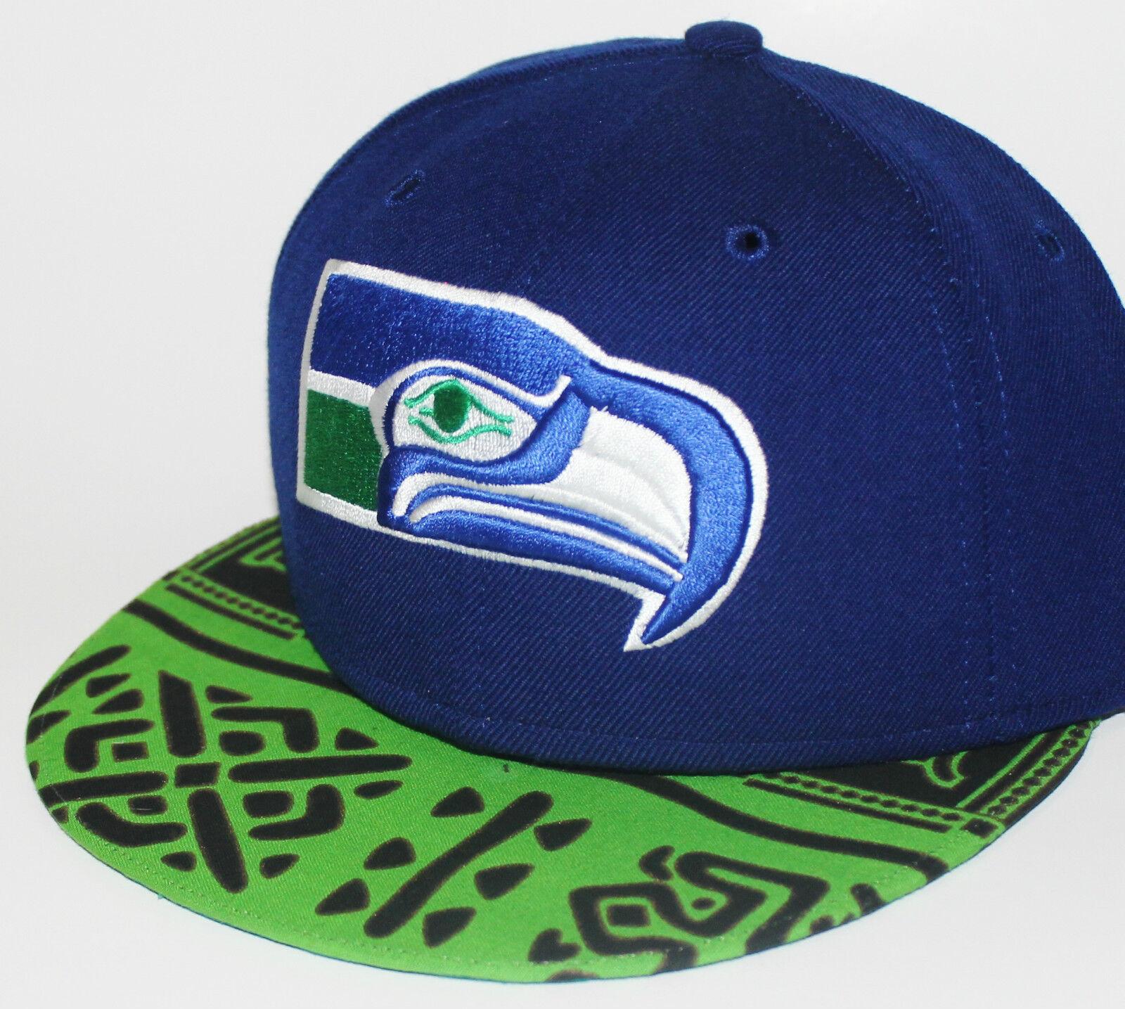 PICK1 Seattle Seahawks Native / Galaxy / Weed Bri… - image 9