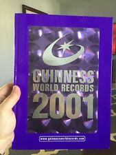 Guinness World Records 2001 : Into the New Millennium by Guinness World Records Editors (2000, Hardcover)