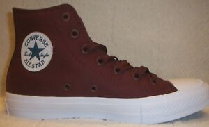 Image is loading Converse-150144C-CTAS-II-Hi-Deep-Bordeau-Mfg- 13eefa545