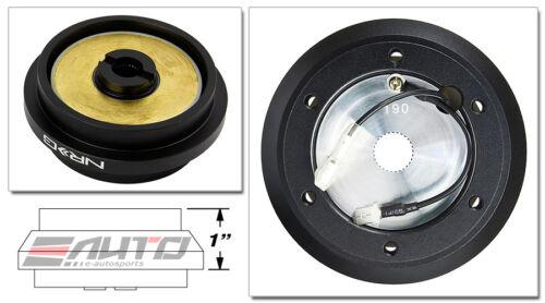 Blue Gen2 Quick Release Ti Chrome Ring NRG Steering Wheel Short Hub SRK-190H