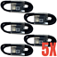 miniature 11 - 5Pack USB C Cable 4ft Fast Charger Lot For Samsung S8 S9 S10 Android Type C Cord