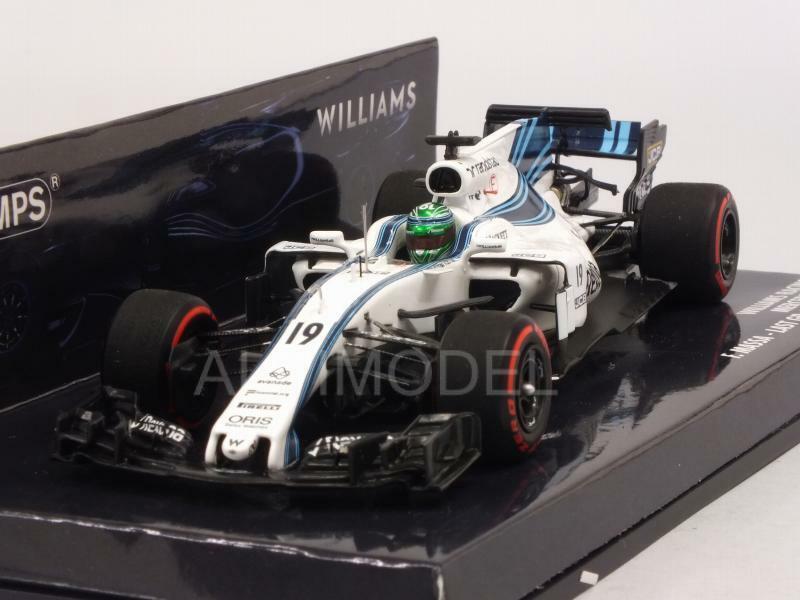Williams FW40 GP Abu Dhabi 2017 Felipe Massa Last 1 43 MINICHAMPS 417172019