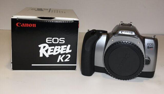 Canon Rebel Eos K2 35mm Film Camera Body W   Original Box