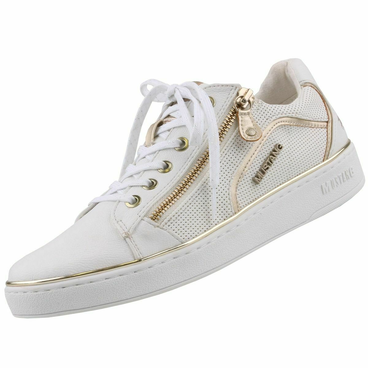 Neuf MUSTANG Chaussures Femmes Chaussures baskets Chaussure Lacée chaussures basses chaussures de loisirs