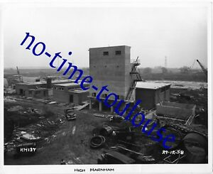 High Marnham Power Station Construction Photograph 1958 - Retford, United Kingdom - High Marnham Power Station Construction Photograph 1958 - Retford, United Kingdom