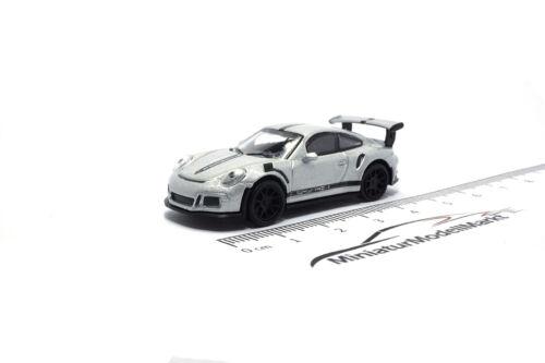 Schuco Porsche 911 GT3 RS - 1:87 26307 #452630700 silber