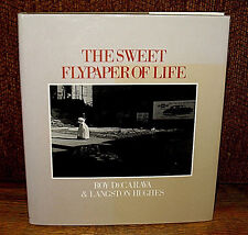 Roy DeCarava Langston Hughes The Sweet Flypaper Of Life 1984 HC DJ Howard Univ