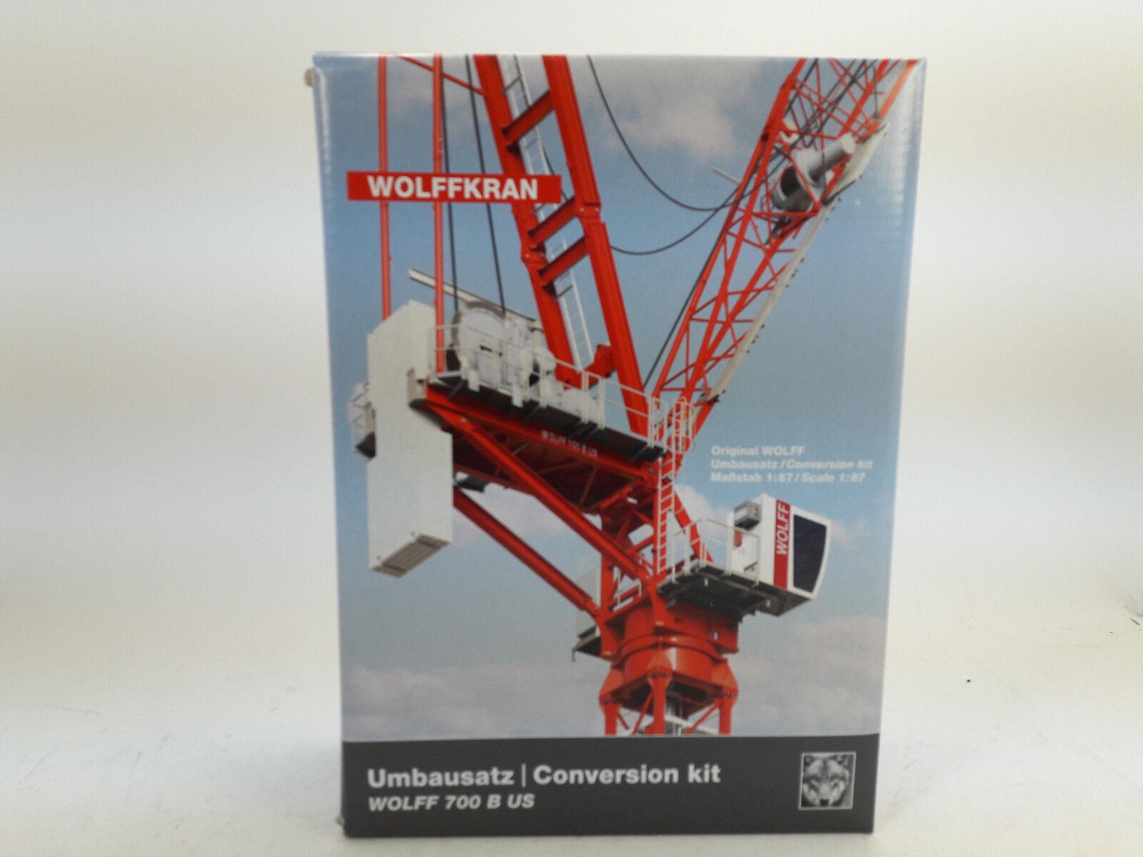 Conrad 98031 Set Complemento para Wolffkran 700B Fly Horca 1 87 Nuevo en Emb.