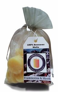 12-Piece-Frankincense-amp-Myrrh-Scented-Beeswax-Melts-by-Hubbardston-Candle