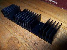 Large Long Black Flat Bottom Aluminum Heatsink 85 X 225 X 15 22 X 4 X 6cm