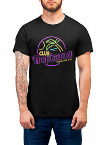 Homme-Club-Tropicana-T-Shirt-80-S-Deguisement-Disco-Party-Musique-WHAM-Retro-Pride
