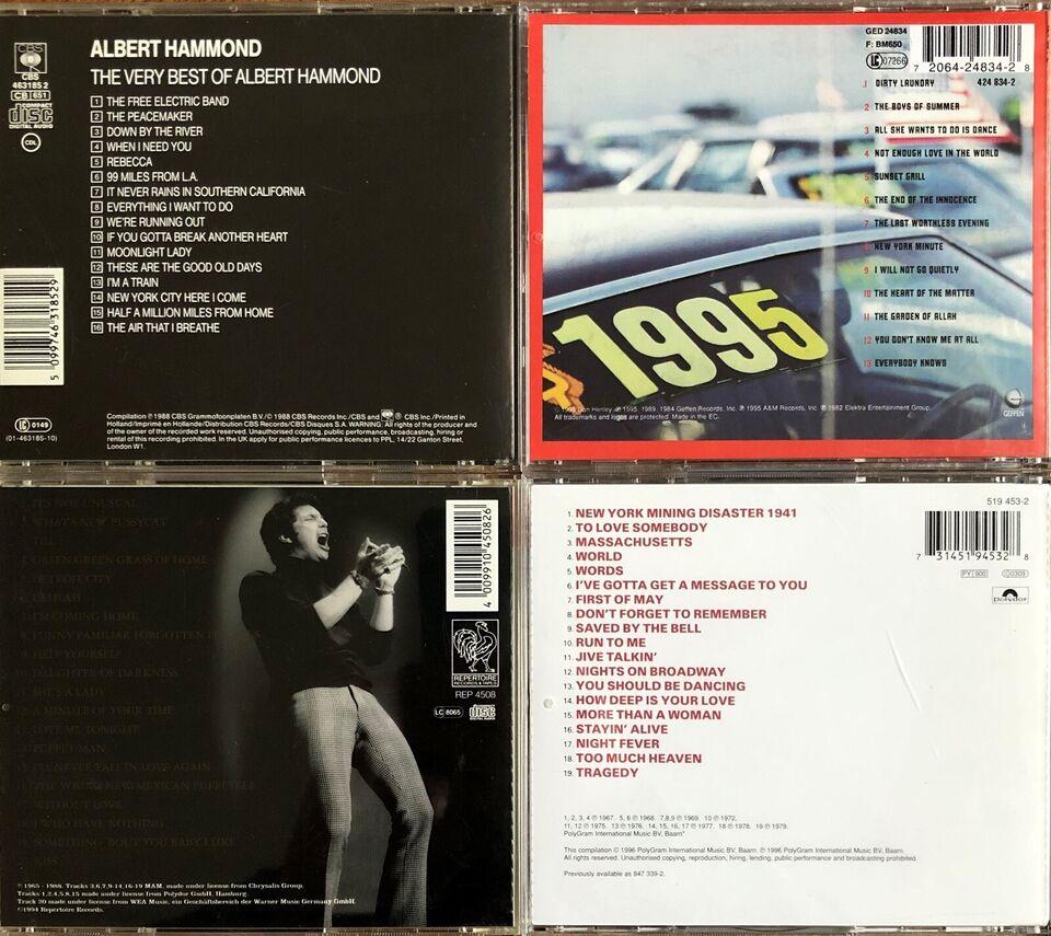 60'er og 70'er rock/pop: Diverse, pop