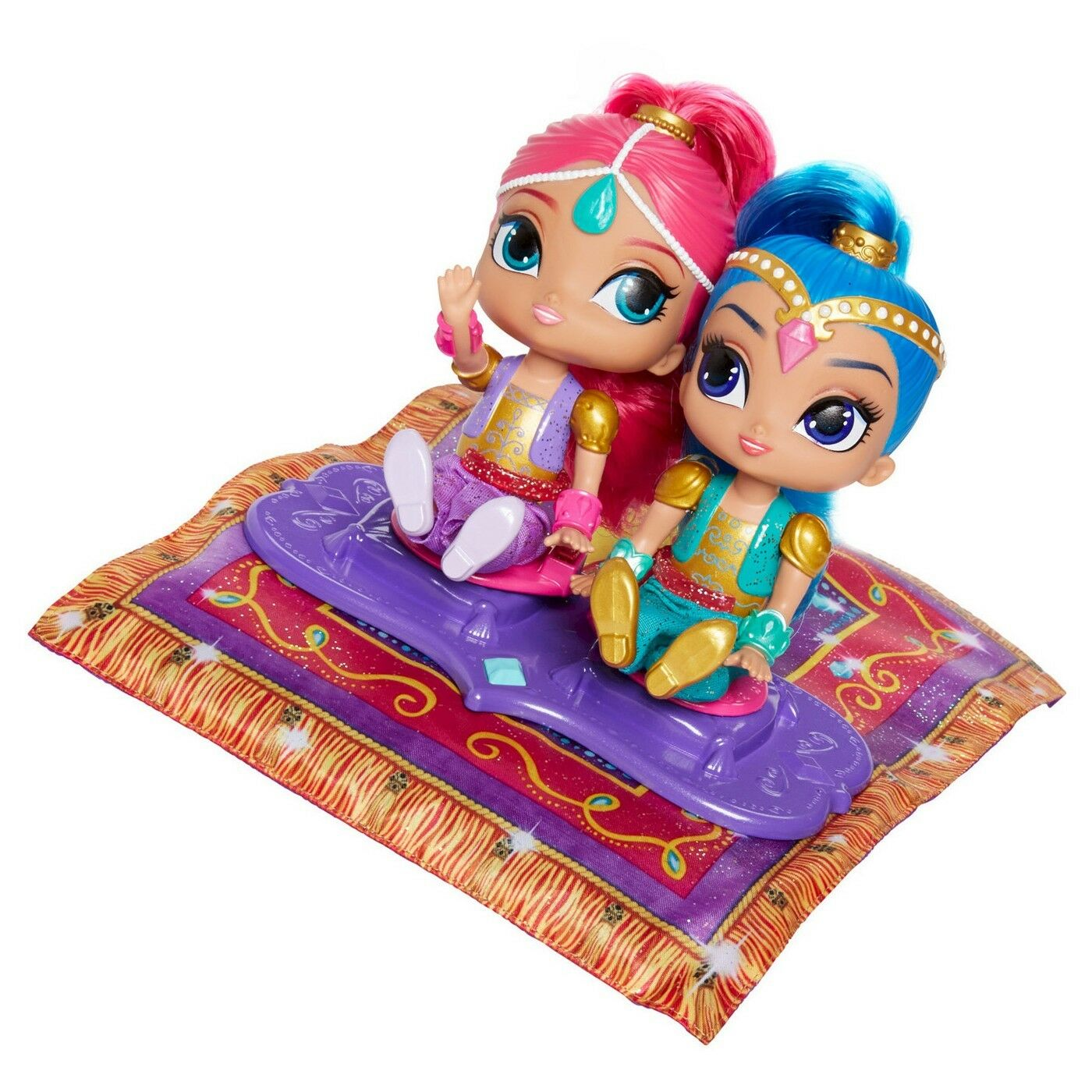 Fisher Price Shimmer and Shine Magic Flying Carpet Ages 3+ Toy Doll Play Girls