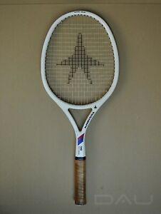 bea514c2 Details about vintage 80s *KNEISSL White Star BIG* OS Adidas GTX Mid Ivan  Lendl racket Austria