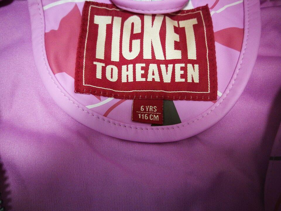 Regntøj, Regnjakke, Ticket to heaven