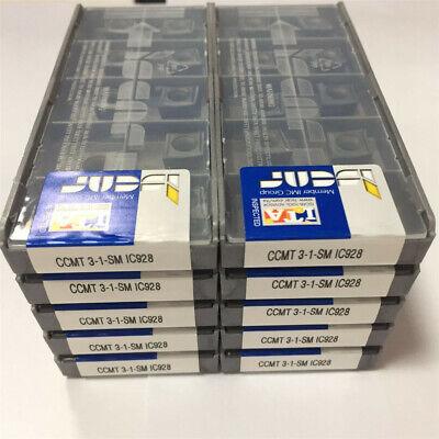 20pcs ISCAR DCMT3-1-SM IC928 DCMT11T304-SM IC928 Carbird Inserts