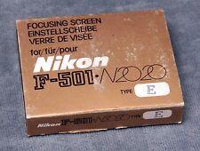 NIKON F-501/N2020 FOCUSING SCREENS - $14.99 EACH INCLUDING FREE USA SHIPPING