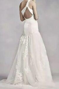 83a1c96ea38c Image is loading VERA-WANG-VW351287-Size-8-Wedding-Dress
