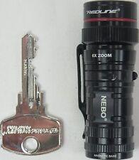 Nebo Micro Redline High Power LED Flashlight #6272-A
