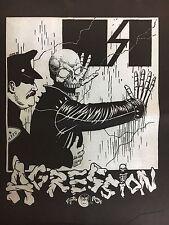 Agression Punk Rock Band Back Patch NEW Nardcore Skate Punk Thrash