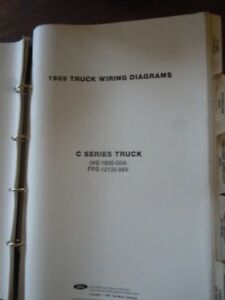 image is loading 1988-ford-c-series-truck-wiring-diagrams-service-