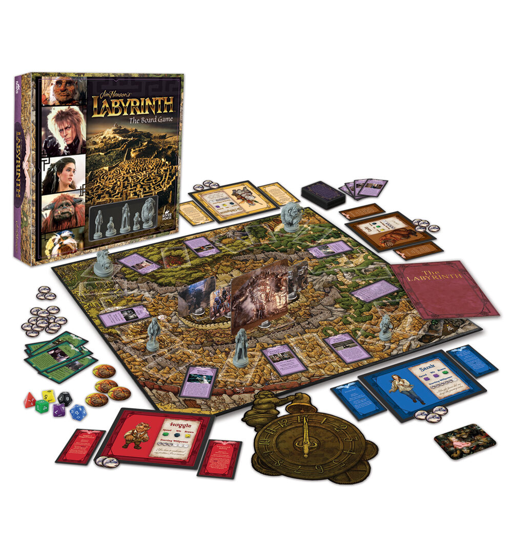 Labyrinth Movie Board Game - Brand New