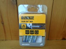 DeWalt DFM140003P Blue-Tip Hex 6 x 30mm PK4