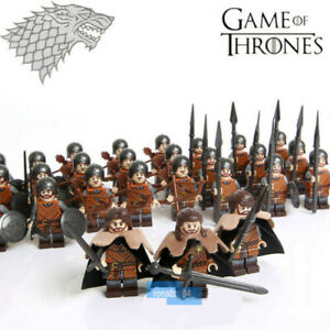 30PCS-Game-of-Thrones-House-Stark-Composite-Army-Mini-Figure-Building-Blocks-Toy