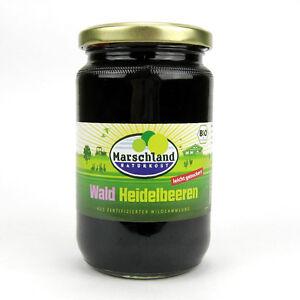 Marschland Naturkost Wald Heidelbeeren Vegan Bio 340 G Atg 125 G Ein Unbestimmt Neues Erscheinungsbild GewäHrleisten Stetig 4,79/100g