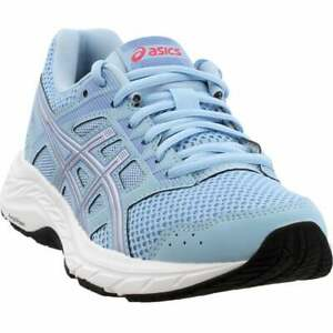 ASICS-Gel-Contend-5-Casual-Running-Stability-Shoes-Silver-Womens