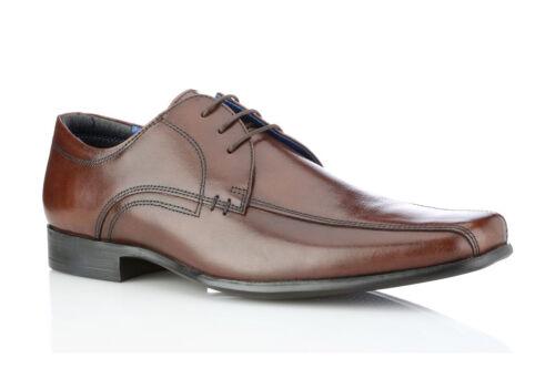 brunes Munster en Nouveau intelligents Chaussures cuir chaussures Uk 8 pour taille hommes avec boutons dᄄᆭcontractᄄᆭes rouge OTkZiuXP