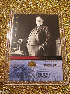 US-President-William-Bill-Taft-United-States-Upper-Deck-USA-Trading-Card