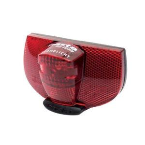 Fahrradrücklicht LED Fahrrad Zubehör Rücklicht mit integriertem Standlicht Licht