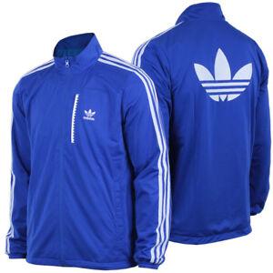 blaue farnkreich adidas sportjacke
