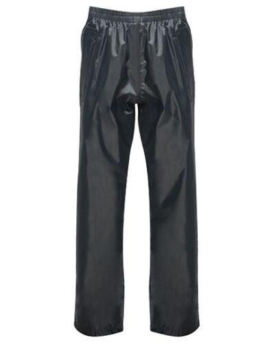 Regatta niños lluvia pantalones matschhose soldadura de costura negro o azul 98-176