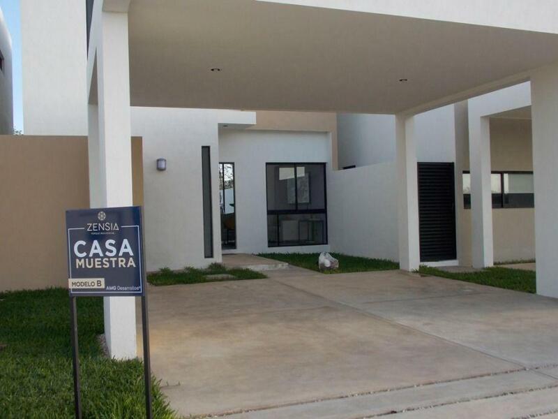 Casa en Privada Zensia (Mod.B) Conkal, Mérida Yucatán