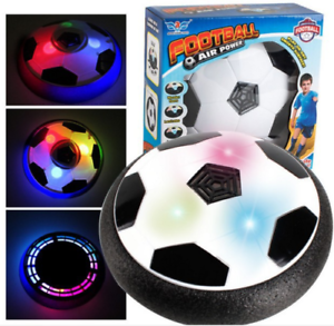 USB Charging 18cm Electric Light Up Football Kids Hover Soccer Ball Toy Gifts