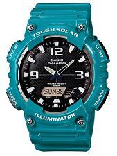 Casio Classic Watch * AQS810WC-3AV Solar Anadigi Green Ivanandsophia COD PayPal