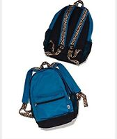 Victoria Secret Pink Backpack Leopard Campus Full Size Compartments