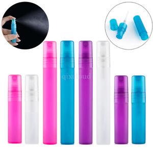 5ml-10ml-Empty-Matte-Plastic-Portable-Perfume-Atomiser-Mist-Spray-Bottles-Pen