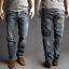 Indexbild 1 - Nudie Herren Regular Straight Fit Bio Denim Jeans Hose - Hank Rey Org. Contrast