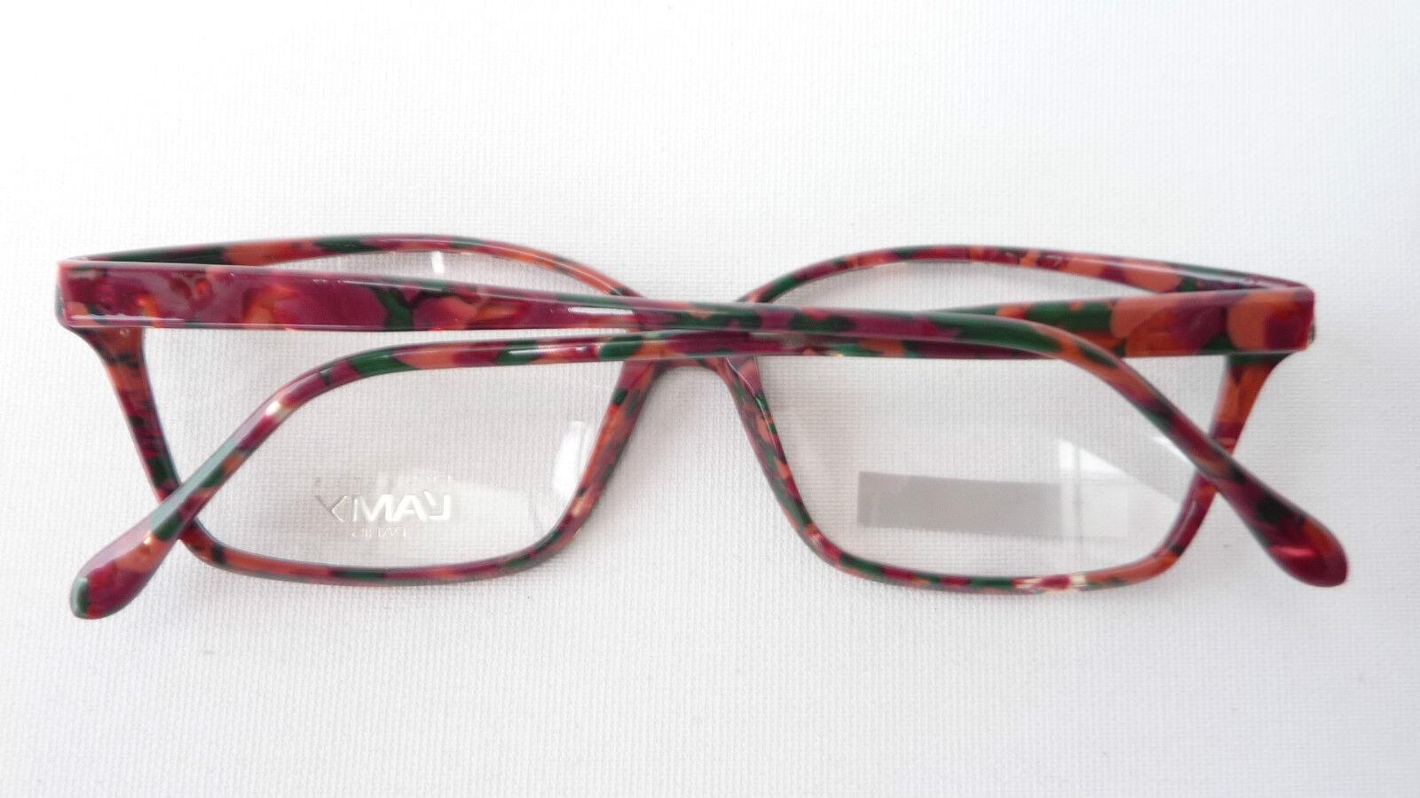 Damen-accessoires Brillenfassungen Humorvoll Vintagegestell Brillenfassung Damen Brille Butterfly Dunkel Marmoriert Grösse L