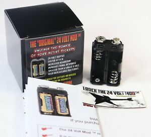 24-VOLT-Mod-Active-Guitar-Pickup-Battery-Pack-No-Batteries-You-Supply-Your-Own