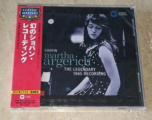 NEW-SEALED-CHOPIN-MARTHA-ARGERICH-LEGENDARY-1965-RECORDING-JAPAN-IMPORT-OBI-CD