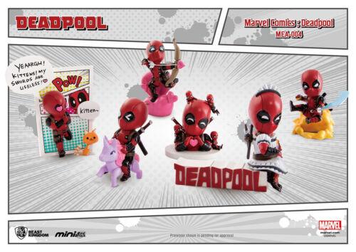 BEAST KINGDOM MINI EGG ATTACK MEA-004 MARVEL DC COMICS DEADPOOL FIGURE