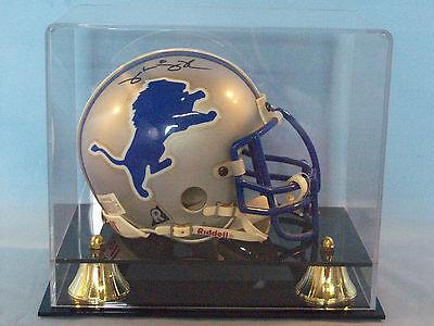 Mini football helmet display case 85% UV filtering acrylic NFL NCAA memorabilia