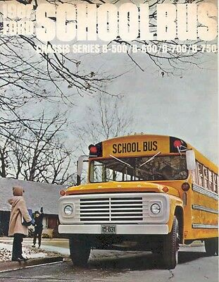 1967 Ford School Bus Brochure wb7023-Y159BH